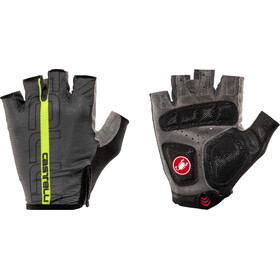Castelli Tempo Gloves Herr anthracite/yellow fluo